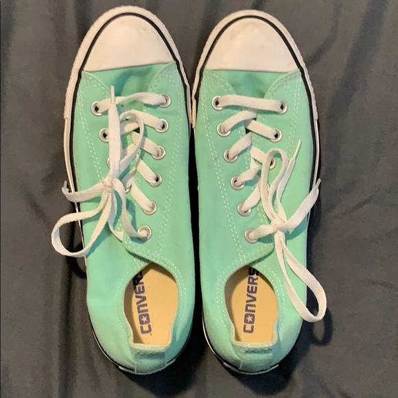 Converse Shoes | Mint Green Womens 9